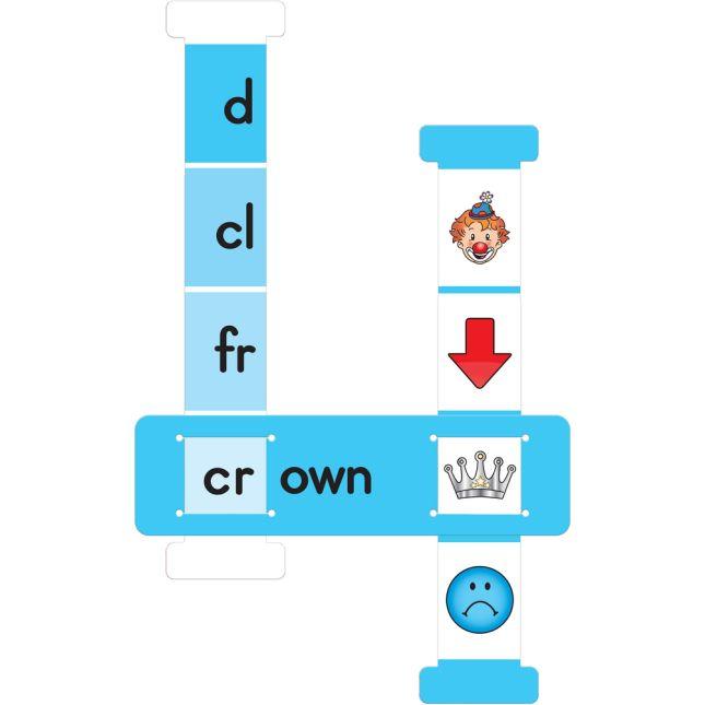 Word Building Sliders: Vowel Teams