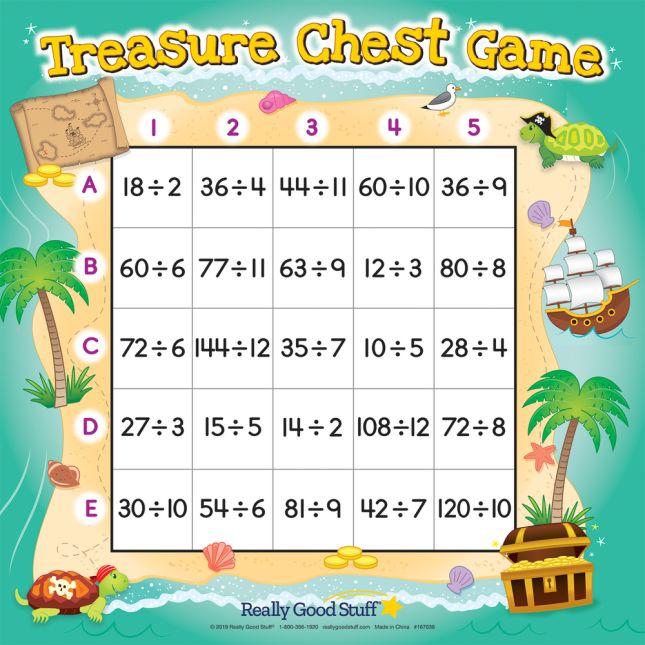 Treasure Chest Division Game - 1 game