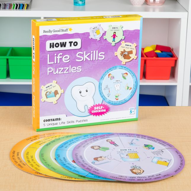 How To  Life Skills Puzzles - 5 puzzles