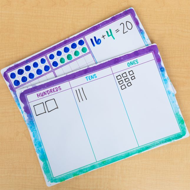 Ten-Frames And Place Value Small Group Kit