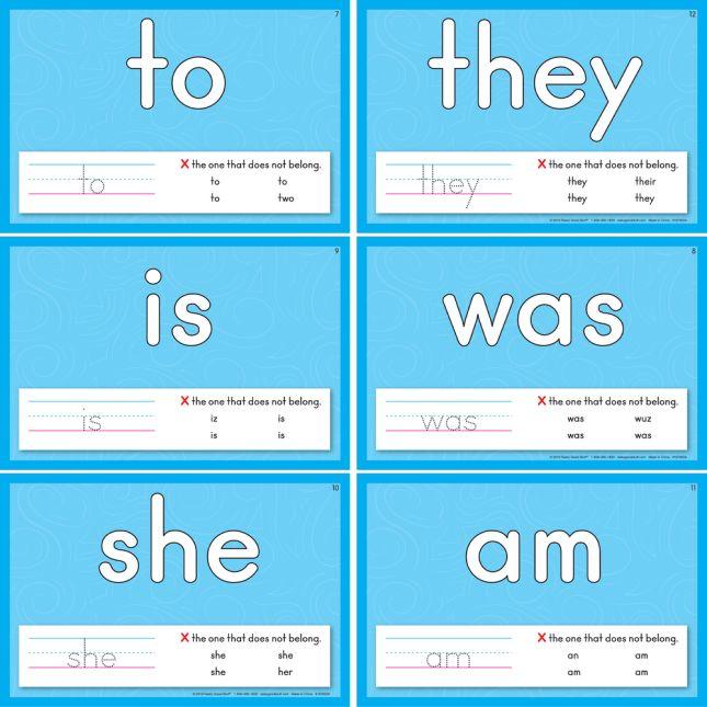 Sight Words Dough Kit