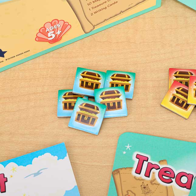 Treasure Chest Sight Word Game - 1 game