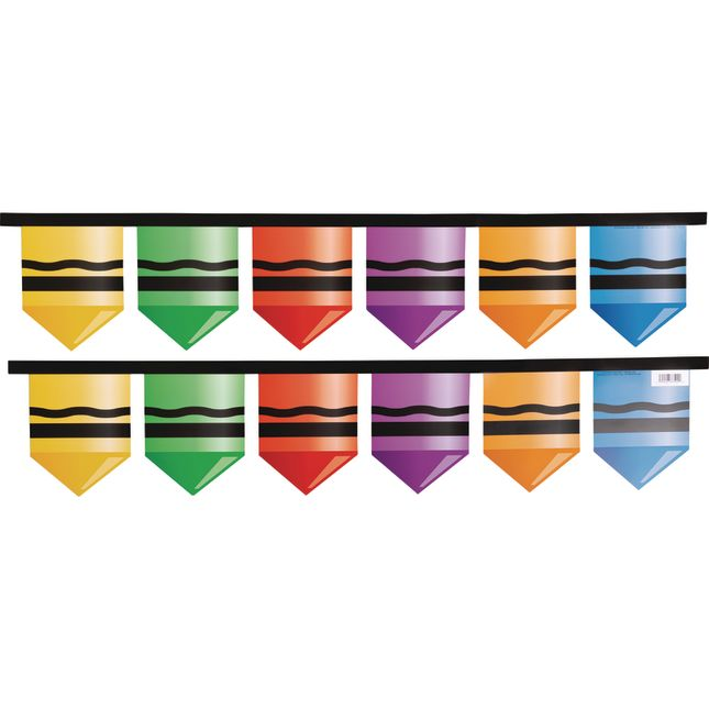 Get Your CRAY-on Paper Garland - 2 garlands