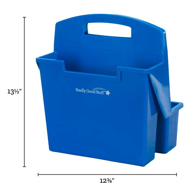 On-The-Go Caddies With Intermediate Self-Adhesive Vinyl On-The-Go Helpers - Blue