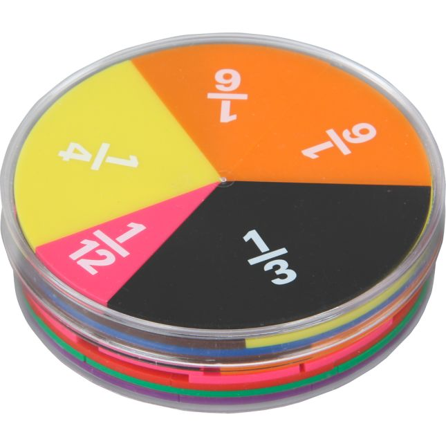 Fraction Magnets And Manipulatives Kit