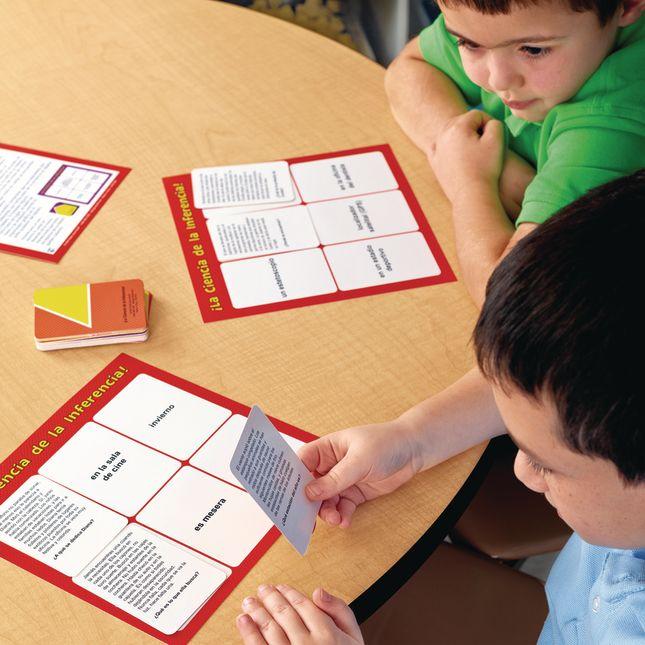Centro de Aprendizaje: La Ciencia de la Inferencia! (Spanish Making Inferences Literacy Center)