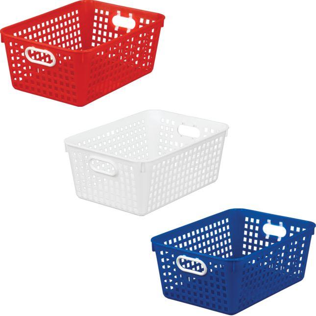 Large Baskets – Patriotic – Set Of 6