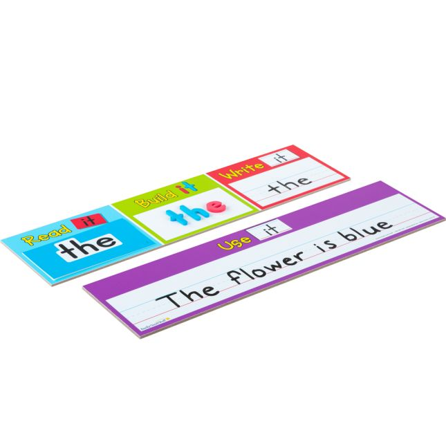 Read, Build, And Write Sight Word Center - 1 activity
