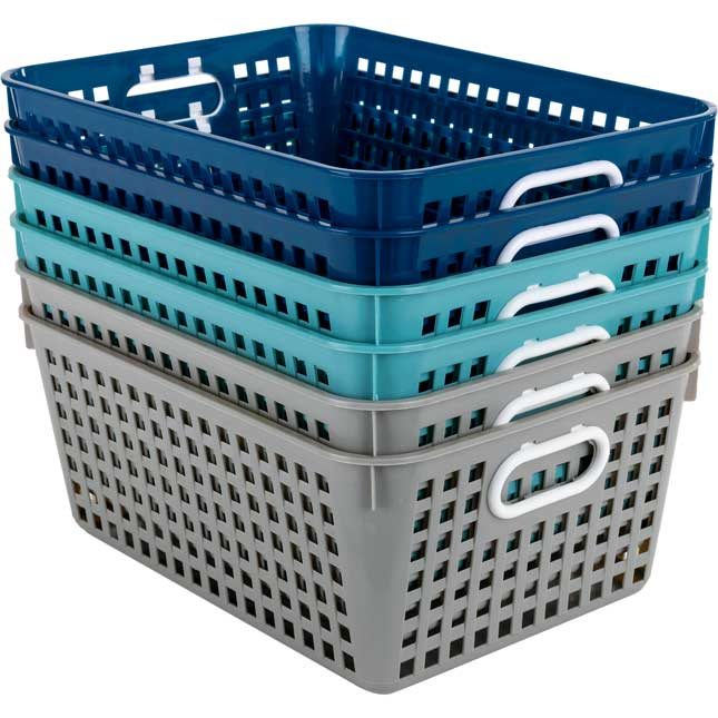Large Baskets – Calm And Cool – Set Of 6