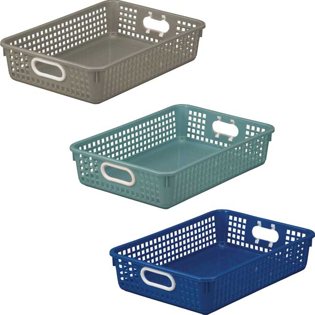 Classroom Paper Baskets – Calm And Cool – Set Of 6