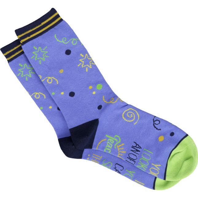 Teacher Off Duty Socks - 1 pair of socks_0