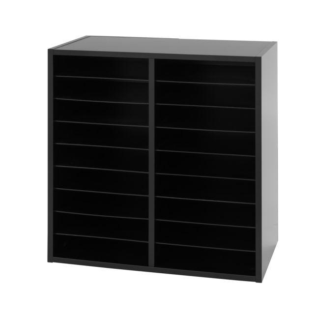 Mail Center - 18 Slot - Black