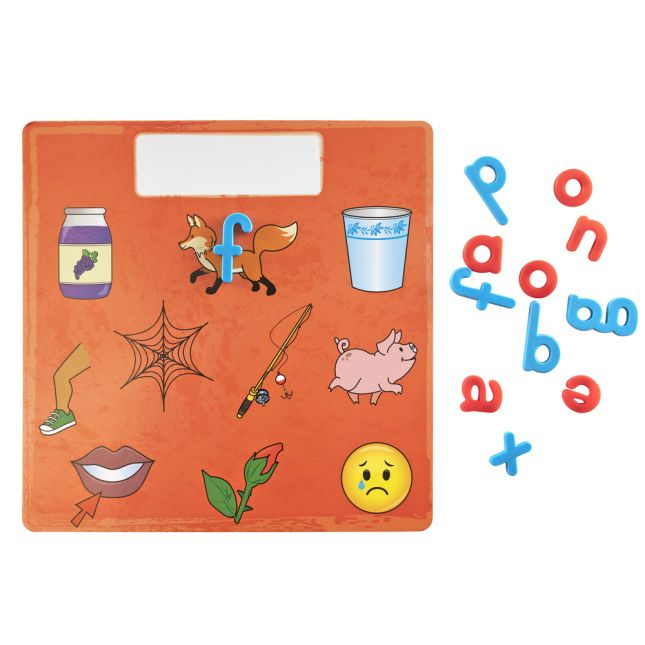 Letter Identification and Phonics Magnetic Boards