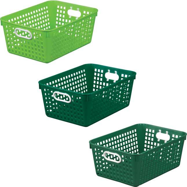 Large Baskets – Go Green – Set Of 6