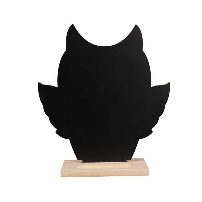 Owl Shaped Chalkboard - 1 chalkboard_1