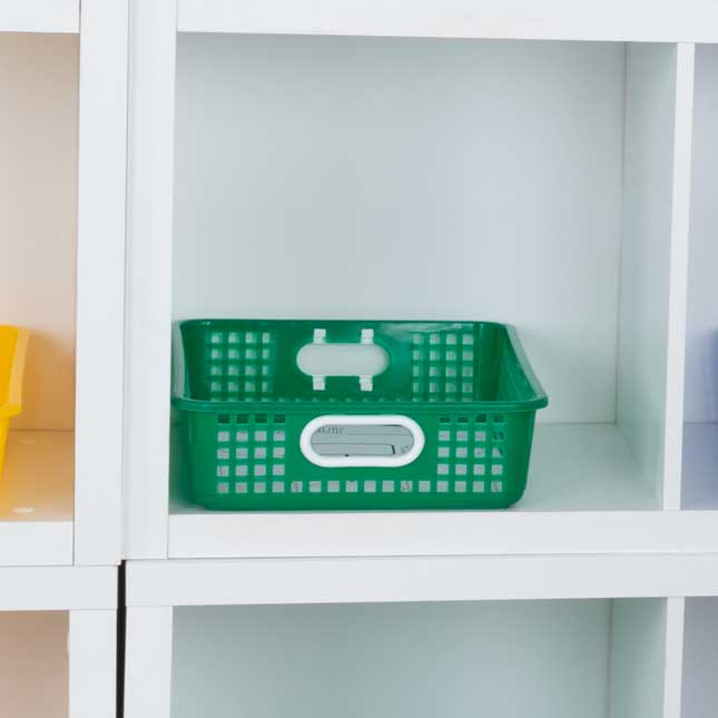 Classroom Paper Baskets – Go Green – Set Of 6