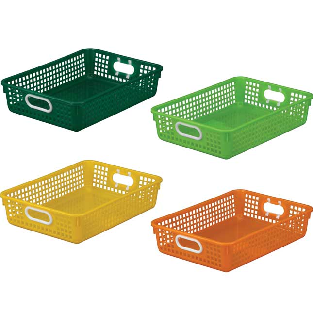 Classroom Paper Baskets – Citrus – Set Of 4_1