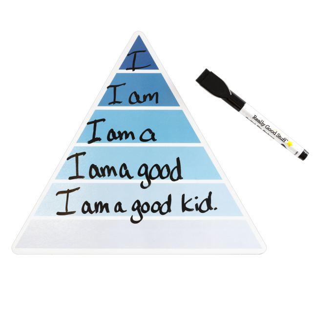 Word Pyramid Dry Erase Board - Set of 6