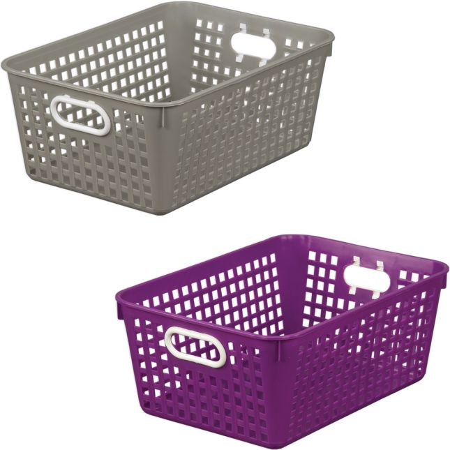 Large Baskets – Calm Before The Storm – Set Of 6