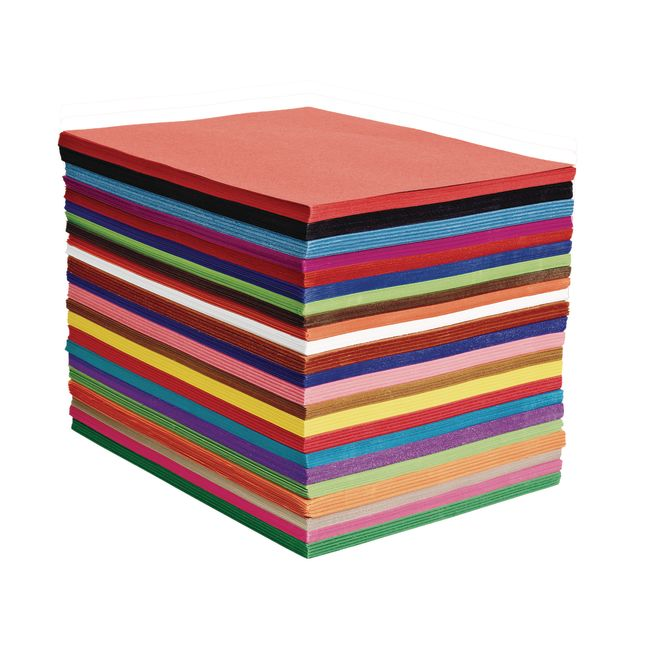 Heavyweight Construction Paper Pack - 50 Sheets_0