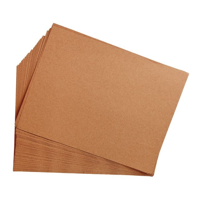 Light Brown 9 x 12 Heavyweight Construction Paper Pack - 50 Sheets