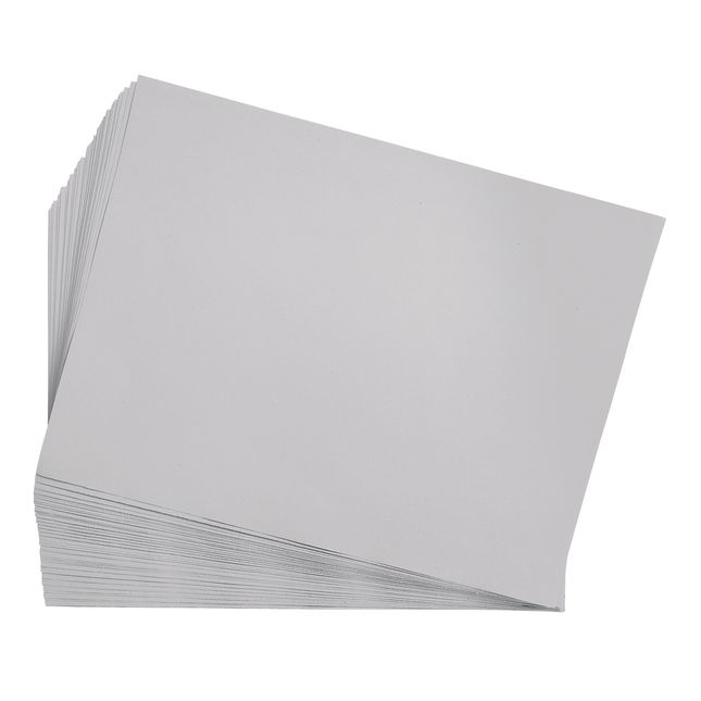 Gray 9 x 12 Heavyweight Construction Paper Pack - 50 Sheets