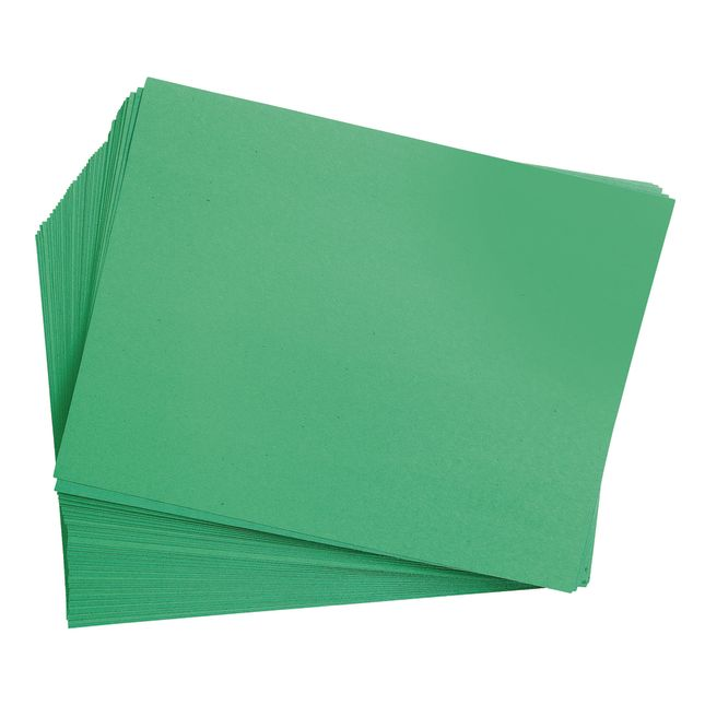 Holiday Green 9 x 12 Heavyweight Construction Paper Pack - 50 Sheets