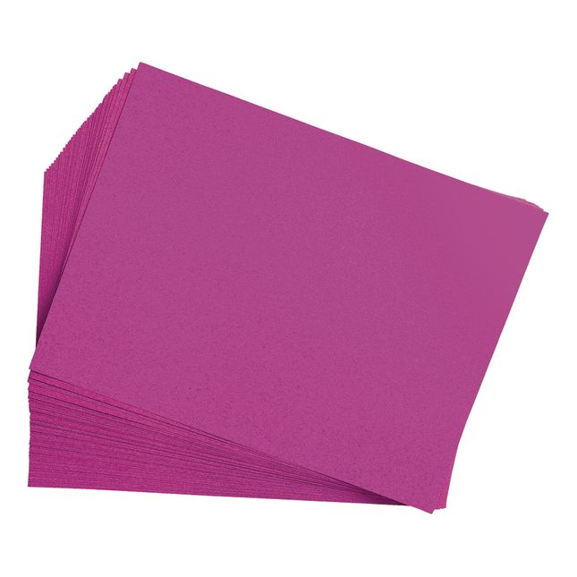 Magenta 9 x 12 Heavyweight Construction Paper Pack - 50 Sheets