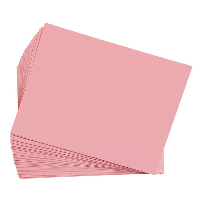 Pink 9 x 12 Heavyweight Construction Paper Pack - 50 Sheets