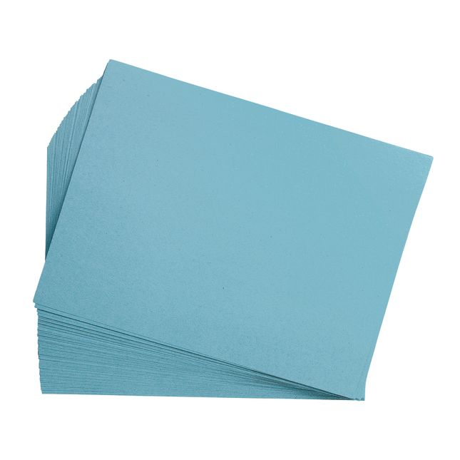 Sky Blue 9 x 12 Heavyweight Construction Paper Pack - 50 Sheets