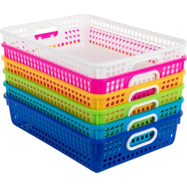 Classroom Paper Baskets – Tropics – Set Of 6_0