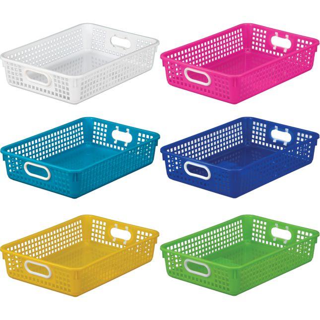 Classroom Paper Baskets – Tropics – Set Of 6_1