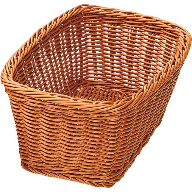 Wicker Look Baskets Set Of 3