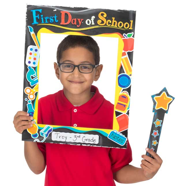 Days To Remember Frames - First Day Of School - 2 frames, 6 wands