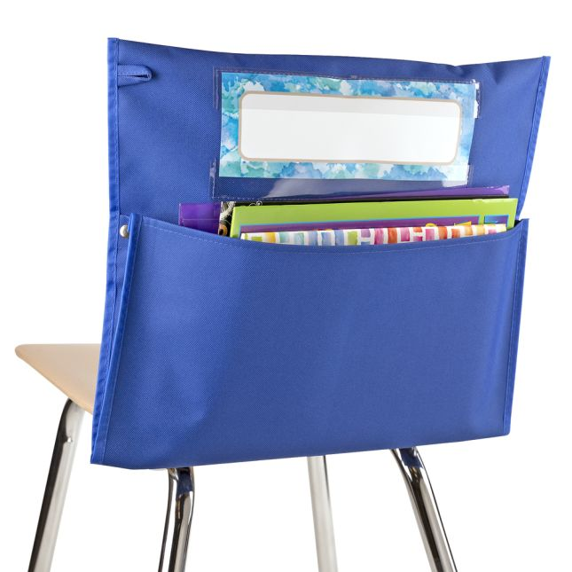 Store More® Chair Pocket – Cool and Calm Colors - Set of 6
