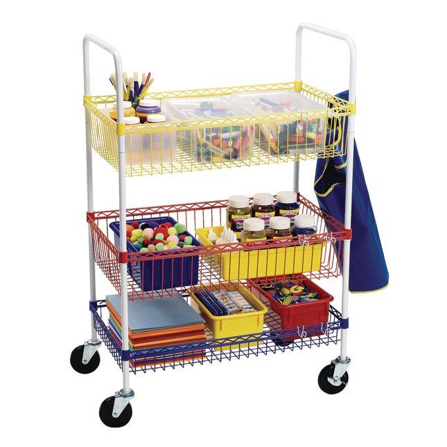Colorations Heavy Duty Classroom Art Cart