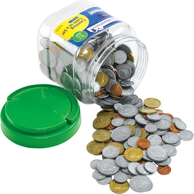 Excellerations Counting Coins 500 Pieces