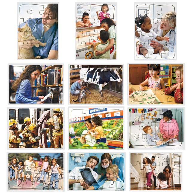 Excellerations Community Puzzles Set of 12