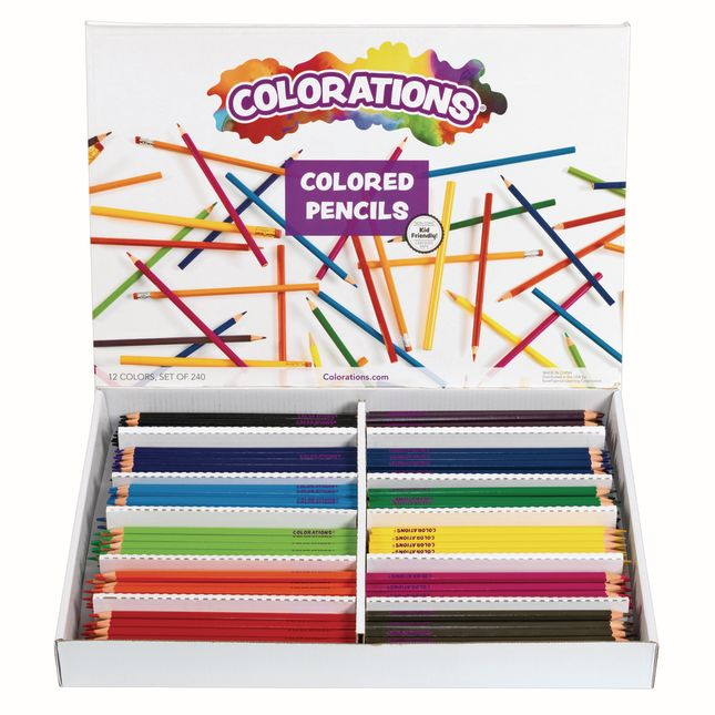 Colorations Regular Colored Pencils Set of 240