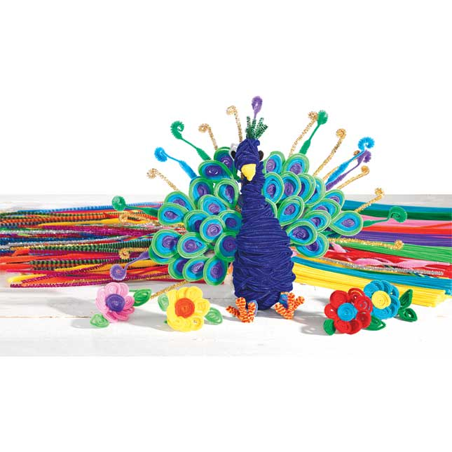 Colorations Pipe Cleaners Set of All 10