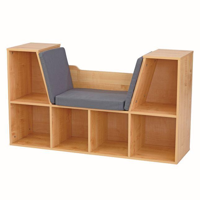 Bookshelf with Reading Nook