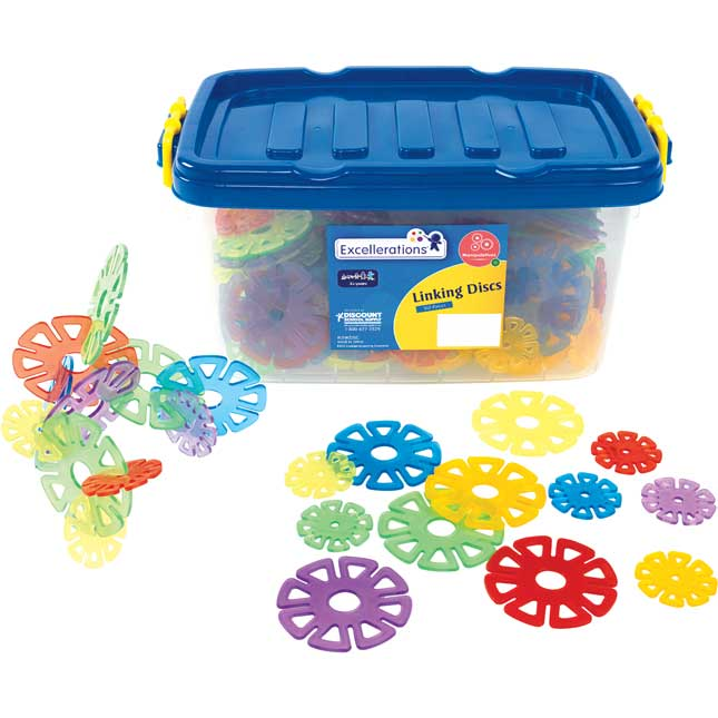 Excellerations Linking Manipulatives Set of 3