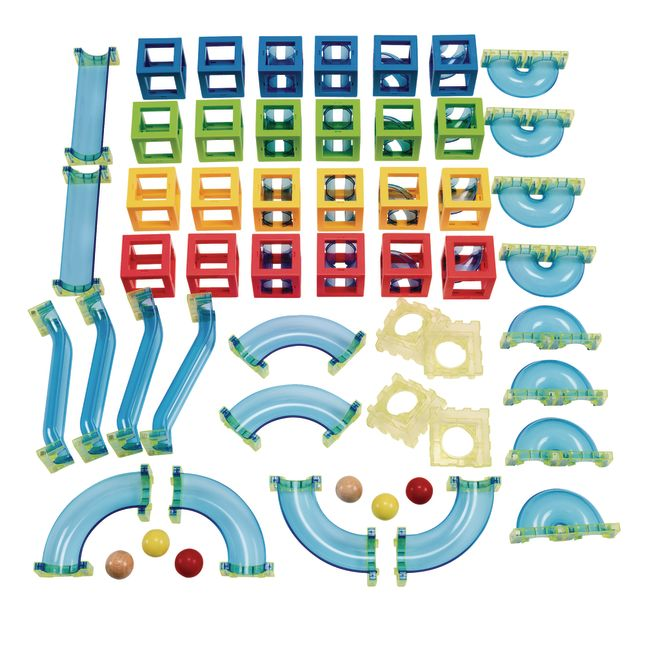 Excellerations Magnetic Ball Run Set of 2