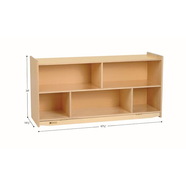 MyPerfectClassroom 24H Divided Shelf Mobile Storage