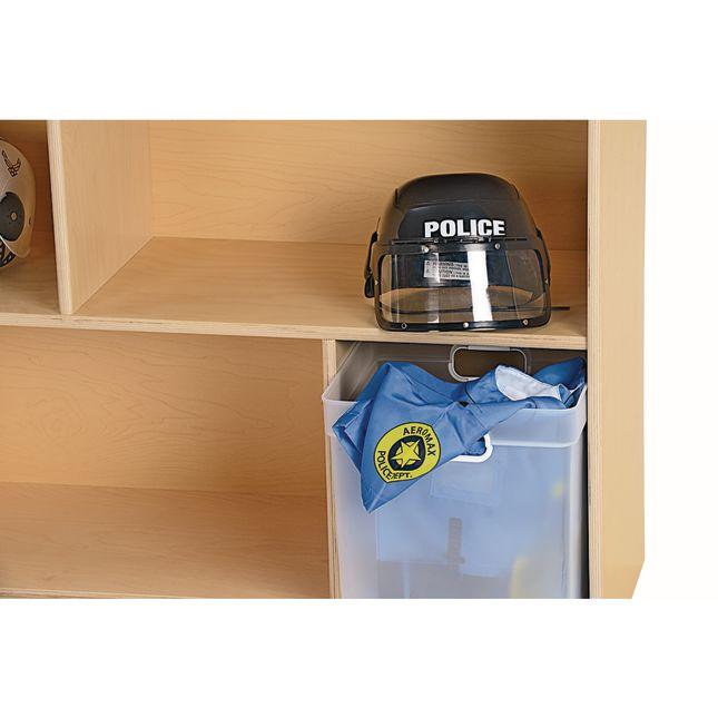 MyPerfectClassroom 29H Divided Shelf Mobile Storage