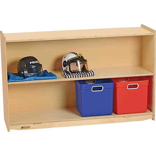 MyPerfectClassroom 48W Straight Shelf Mobile Storage
