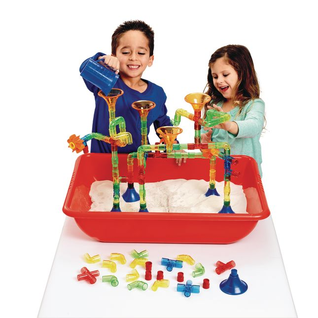 Water Flow and Play Building Set 105 Pieces