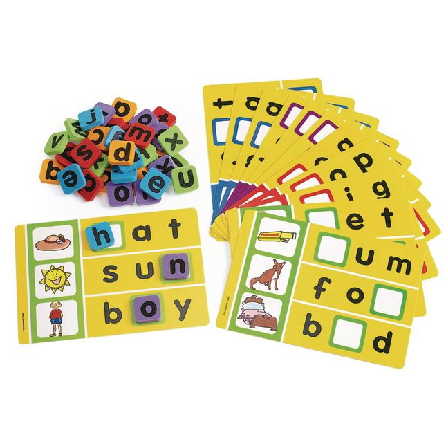 Excellerations Phonics Spelling Game