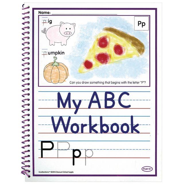 Excellerations Alphabet Skills Workbooks Set of 10