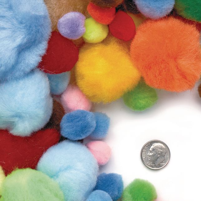 Colorations Big Bag of Pom Poms 1 lb